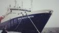 Во льдах Охотского моря застрял теплоход с 127 пассажира...