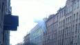 Появились фото пожара на улице Шамшева на Петроградке