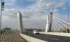 Автомобиль ДПС попал в ДТП у моста Бетанкура