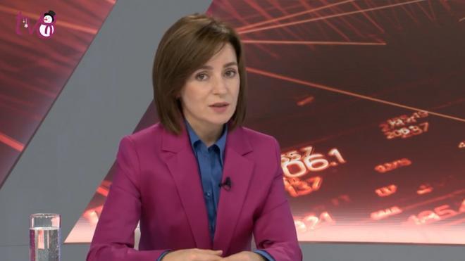 """Санду заявила, что в Молдавии не против вакцинации жителей Приднестровья """"Спутником V"""""""