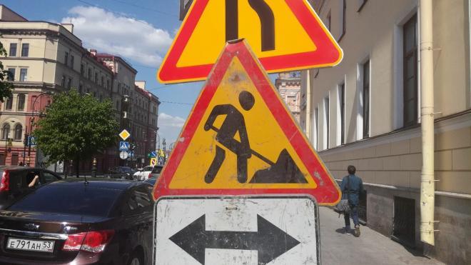 До середины апреля проезд по Михайловскому переулку и Железнодорожному проспекту будет перекрыт