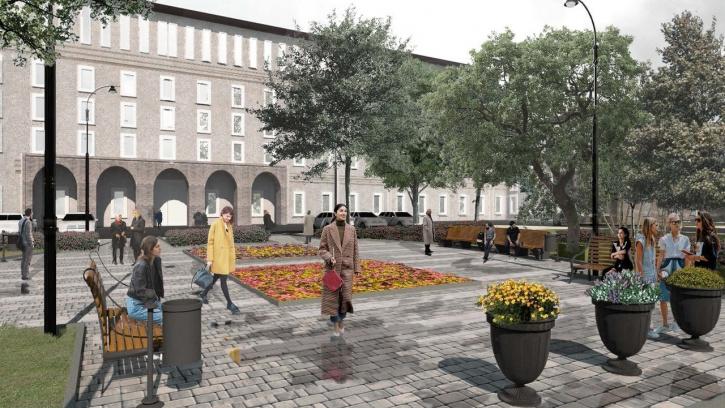 Сквер на Торжковской улице 4 преобразится в 2019 году