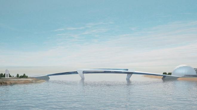 В Петербурге может появиться двухуровневый мост-магазин