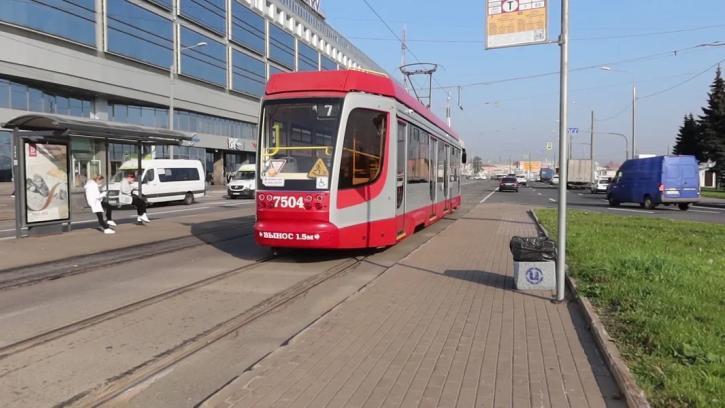 В Калининском районе изменятся маршруты трамваев
