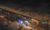 На Красносельском шоссе иномарка на скорости сбила пешехода, который попытался сократить путь