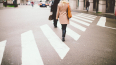 На Ириновском проспекте иномарка сбила женщину-пешехода