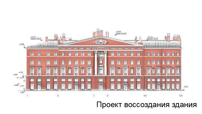 """""""Группа ЛСР"""" займется гостиницей на месте Литературного дома"""