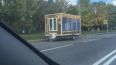 Золотой отель на колесах переехал с Невского к реке ...