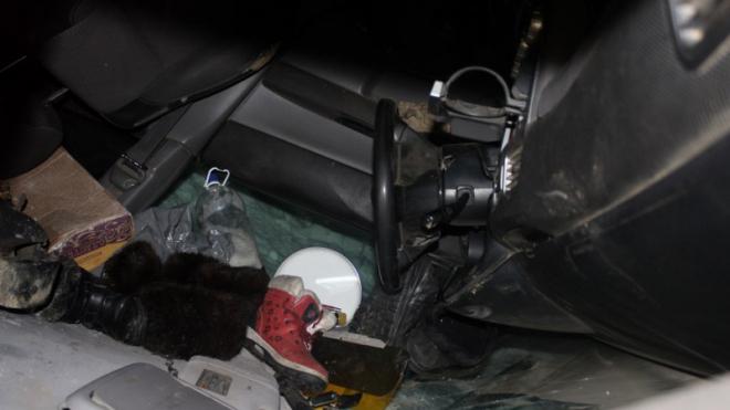 Под Красноярском пьяный водитель перевернул авто: из-за травм погиб сын, а отец сбежал с места ДТП