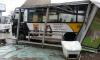 В автобусе, протаранившем остановку на Пискаревском, пострадали две женщины