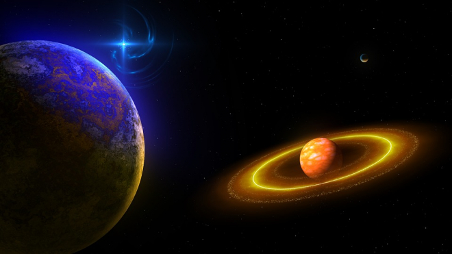 Ученые нашли планету где есть грозы и дожди