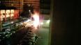 В Приморском районе ночью сгорели три дорогих иномарки