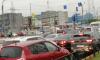 Неработающий светофор спровоцировал пробку в Красногвардейском районе