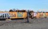 В Петербурге молодого граффитиста задержали за порчу вагонов электропоезда