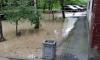 На проспекте Ветеранов прорвало трубу с холодной водой