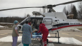 Из Тихвина на вертолете в Петербург доставили роженицу ...