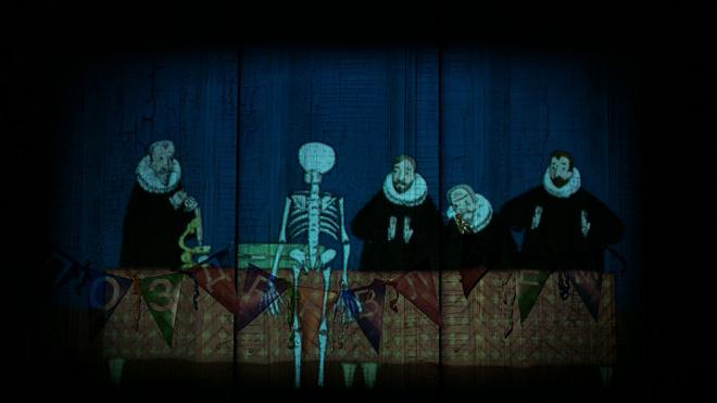 """Спектакль """"Скелет в шкафу"""""""