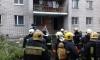 В пожаре на Маршала Блюхера ребенка спасали в ковше экскаватора