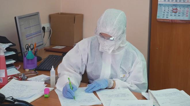 В Петербурге свободны только 4% коек для пациентов с коронавирусом