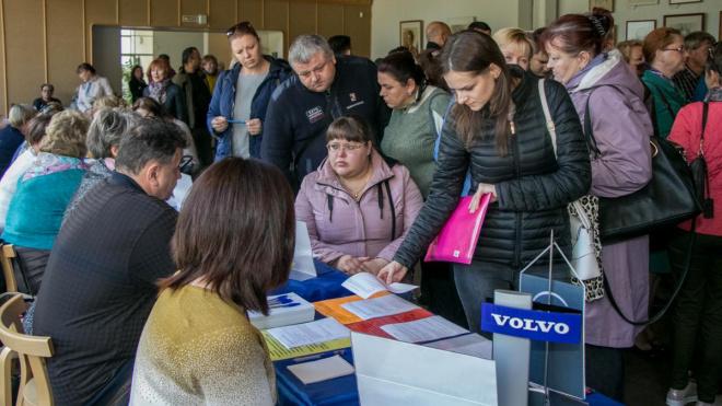 """Выборжане присоединились к акции """"Единый день трудоустройства в Ленобласти"""""""