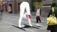 Жутковатый памятник жертве аборта вырос в центре Петербу...
