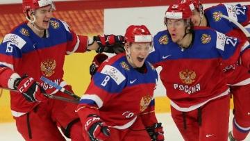 Состав сборной России на игры с Чехией