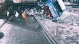 Тягач с цистерной попал в аварию на трассе М-11