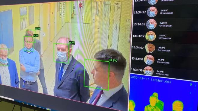 В Пулково будут определять температуру пассажиров при помощи новых тепловизоров