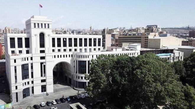 В МИД Армении заявили, что признание геноцида армян необходимо для их безопасности
