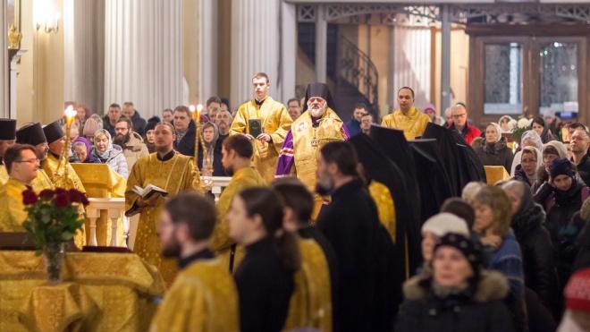 Международный день православной молодежи ограничит движение в центре Петербурга