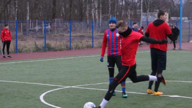 В Выборге состоялся футбольный турнир среди любительских команд