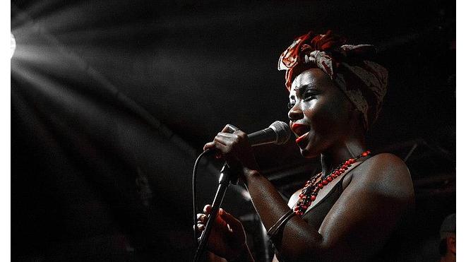 Концерт Shola Adisa-Farrar на крыше