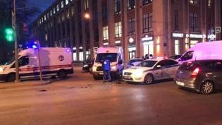 В Петербурге оштрафовали водителя скорой за ДТП со спецсигналами