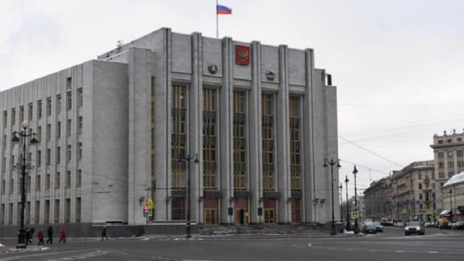 В здании правительства Ленобласти произошло короткое замыкание