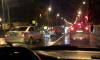 На Петергофском шоссе произошло массовое ДТП
