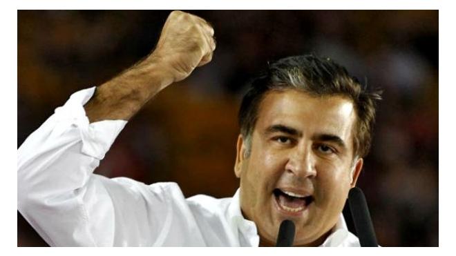 Михаил Саакашвили устроил скандал в прямом эфире украинского телевидения