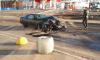 "Напротив ТЦ ""Европолис"" в смятку разбилась Toyota Supra"