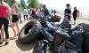 Подростки Приморского района очистили берег Финского залива