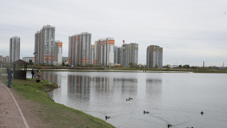 Во Фрунзенском районе открыт новый парк «Героев-пожарных»