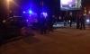 На проспекте Стачек женщина-водитель не справилась с управлением и врезалась в толпу пешеходов