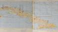Карта Кеннеди с советскими военными объектами на Кубе уш...