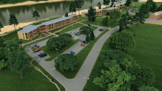 В Лодейном Поле появится гостиничный комплекс около реки Свирь