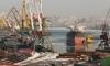 Во порту Владивостока столкнулись сухогруз и катер
