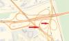 На развязке КАД с Московским шоссе перекроют два съезда
