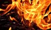 В Петербурге горит ремонтная мастерская с автомобилем внутри