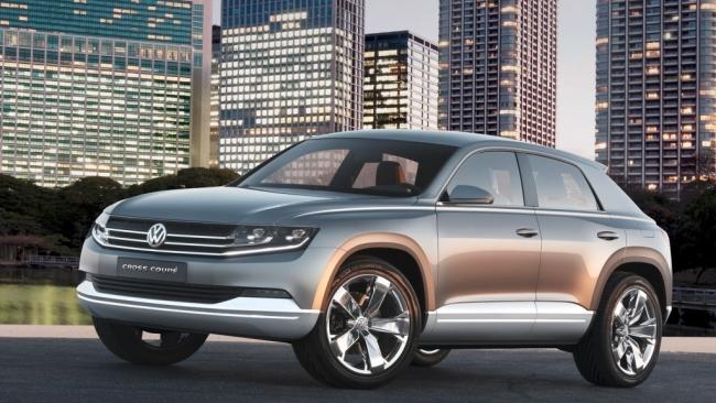 Volkswagen показал в Токио свой гибридный концепт Cross Coupe