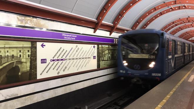 В метро Петербурга появятся 70 новых вагонов