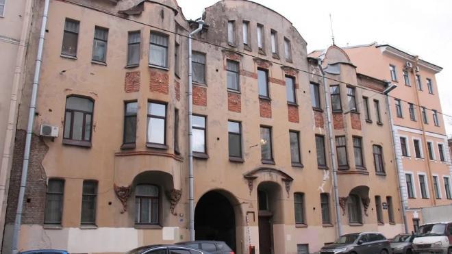 В Басковом переулке обнаружены стеклянные кирпичи системы Фальконье