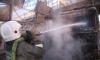 В Петербурге пассажирский автобус полностью сгорел за 25 минут