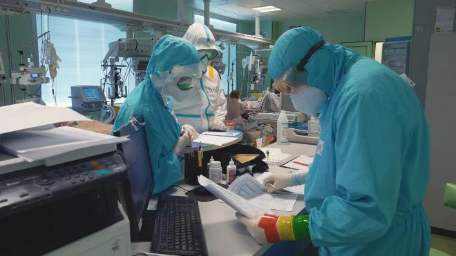 В Петербурге свободны всего 18,2 % коек для пациентов с коронавирусом